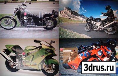 5 Экранов приветствия мотоциклов