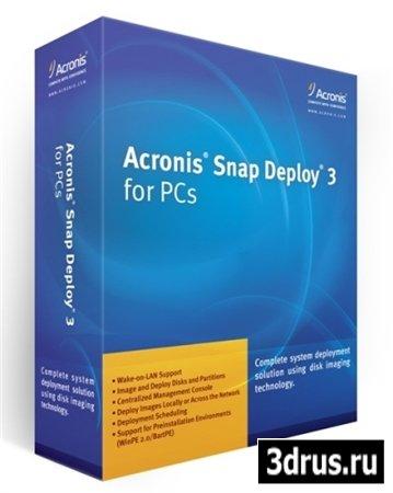 Acronis Snap Deploy Server 3.0.3292