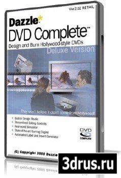 Dazzle DVD Complete Deluxe v2.02  (FREE)