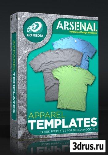 GoMedia - Realistic T-Shirt Templates