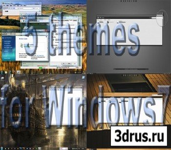 5 themes for Windows7