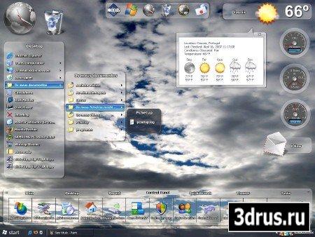 Уникальные 74 темы для WINDOWS XP