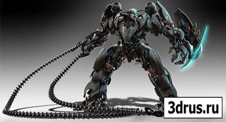 The Gnomon Workshop - Robot Design with Josh Nizzi » 3drus - 3D