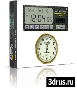Speaking Clock Deluxe 3.62 inclser
