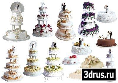 Клипарт торты свадебные в клипарт