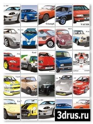 Mega Cars Vectors