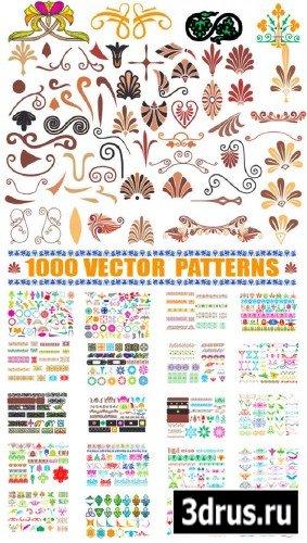 1000 Vector Patterns