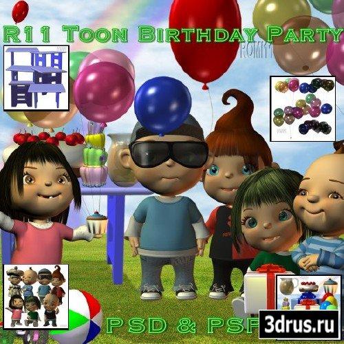 Toon Birthday Party