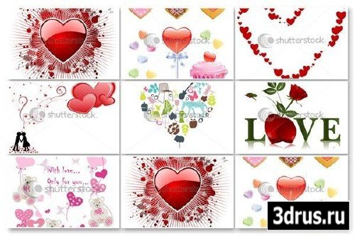 Heart Vectors Pack