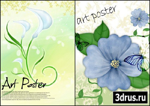 PSD Beautiful flower2