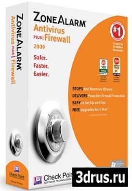 ZoneAlarm Antivirus Plus Firewall 9.0