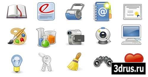 Иконки для рабочего стола (разные размеры)