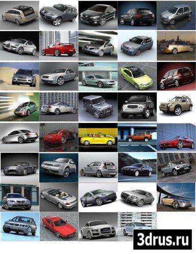 3d модели машин - фото 3