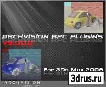 Archvision RPC Plugins v3.17.0.0 For 3Ds Max 2009