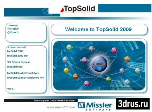 Topsolid 6.10.220 (2009)
