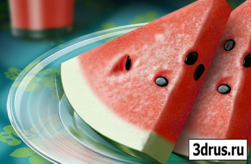 Water-Melon PSD