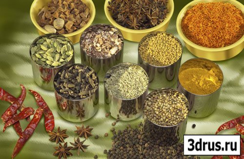 Spices PSD