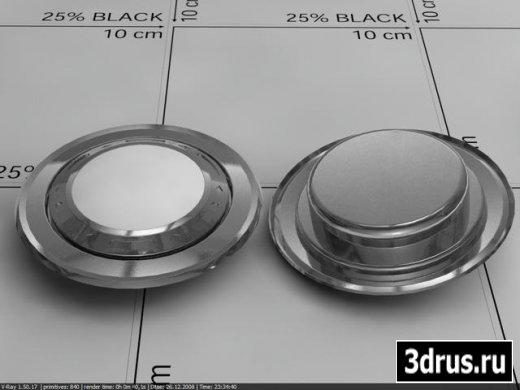 Точечный светильник (3D-MAX)