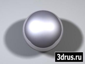 Создаем материал металла.3ds max.