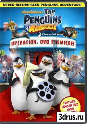Пингвины Мадагаскара: Операция ДВД / The Penguins Of Madagascar: Operation DVD / 2010 / DVDRip