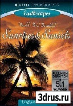 Живые Пейзажи - Самые красивые Рассветы и Закаты / Living Landscapes - WMBS (2009) DVDRip