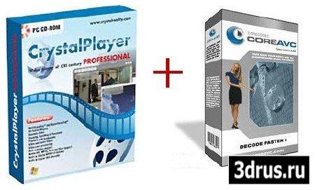 Как ускорить воспроизведение HDTV фильмов (Crystal Player + CoreAVC + Кряк)