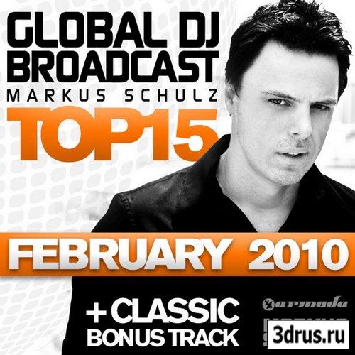 VA-Global DJ Broadcast Top 15 (February 2010)