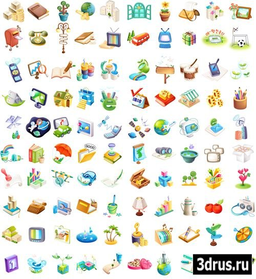 EveryDay Events Vector Icons