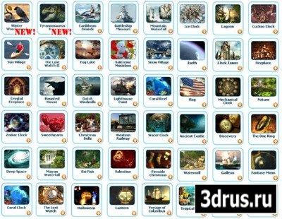 Подборка из 49 скринсейверов - 3Planesoft (2010/PC)