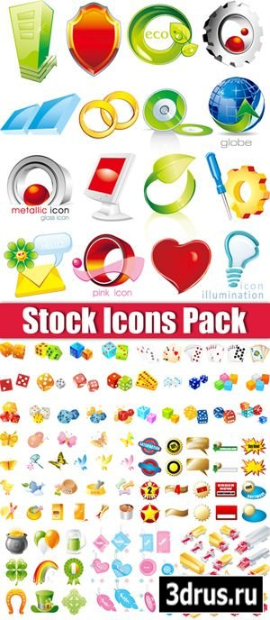 Stock Icons Vector Pack