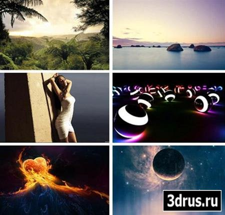 HD Wallpapers Wide Pack №42