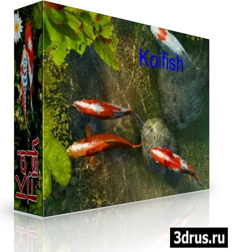 Koi Fish 3D Screensaver 1.0 Build 4 Rus