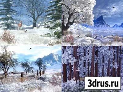 Скринсейверы на зимнюю тему для Windows7