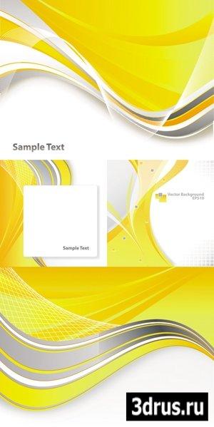 Yellow Backgrounds Vector