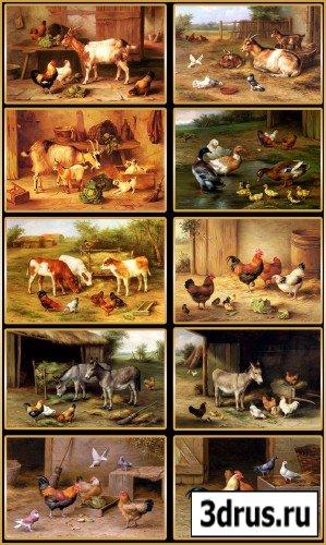 Картины Edgarda Hunta