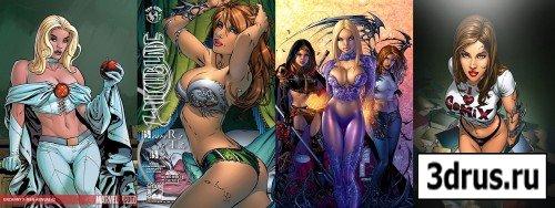 Super Girls of Eric Basaldua
