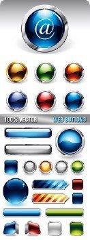 Stock Vector - Web Buttons