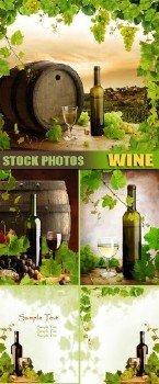 """Растровый клипарт - """"Wine   Вино"""""""