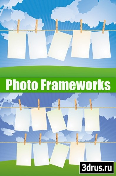 Photo Frameworks Vector