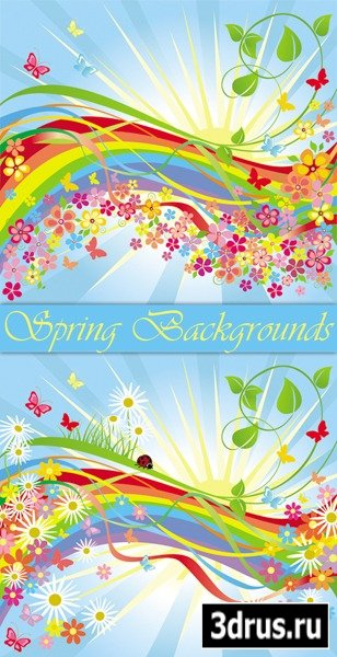 Spring Floral Backgrounds