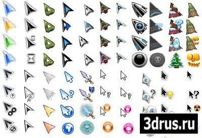 FreeCursors v 3 - скачать бесплатно сборку из 38 красивых, анимированых курсоров для мыши