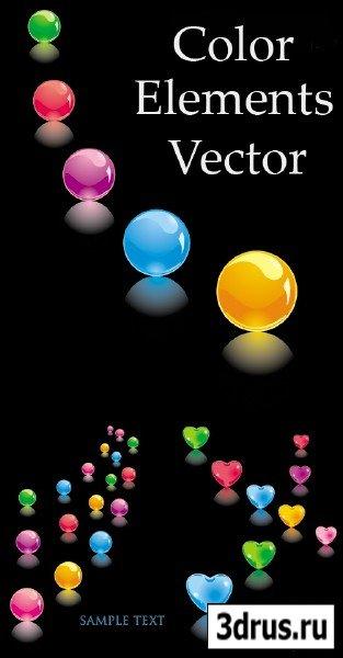 Color Elements Vector