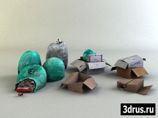 Мусор 3D model
