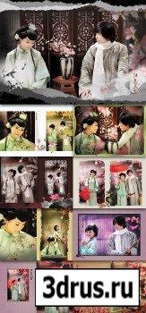 Photo Templates - Jiangnan people