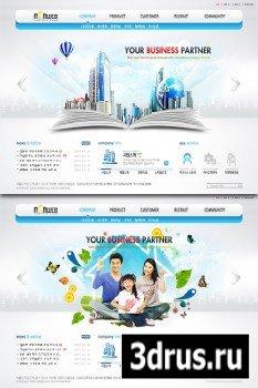 PSD Web Templates - Your Business Partner