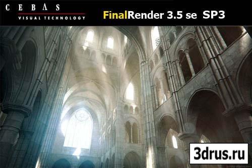 Cebas Final Render 3.5 SE Sp3 for 3ds Max 2009-2012 x86/x64 – XFORCE
