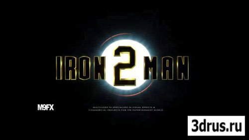 Iron Man Tutorial (3D's Max, AfterEffects)