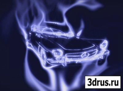 Видеоурок - Рисуем дымом в Photoshop