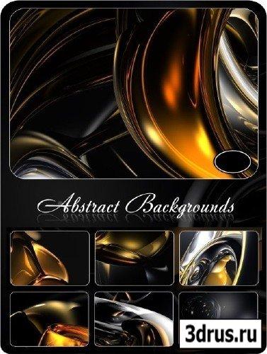 Темные абстрактные 3D фоны