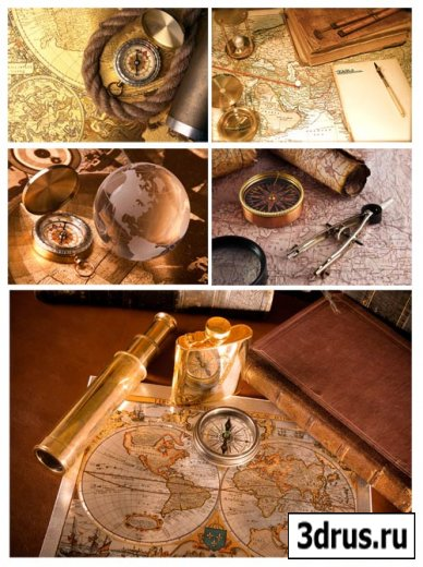 Stock Photo Старые карты